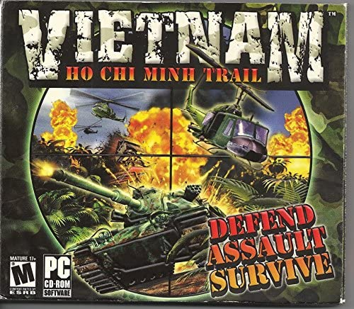 Vietnam Ho Chi Minh Trail WINDOWS XP CD product image