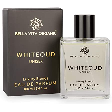 Bella Vita Organic White Oud Perfume for Men and Women Soft Oudh Scent Long Lasting Fragrance Unisex, 100 Ml