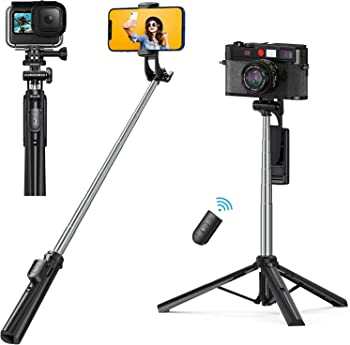 5-in-1 Extendable Selfie Stick Tripod with Wireless Remote