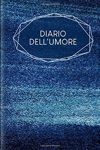 Diario dell'umore: Cattura il tuo umore quotidiano per riempire | Design: Blu polvere