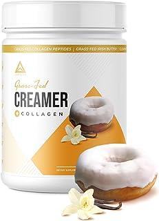 Grass-fed Keto Creamer: Collagen Protein + C8 MCT Oil + Irish Butter | Keto Bomb BPC Coffee Creamer | Ketogenic Diet Ketos...