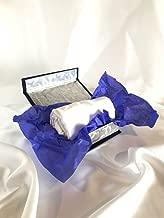 Snezhinka 100% Silk Pillow Cover In Charmeuse Weave, 21 Momme, Standard Size, White Colour