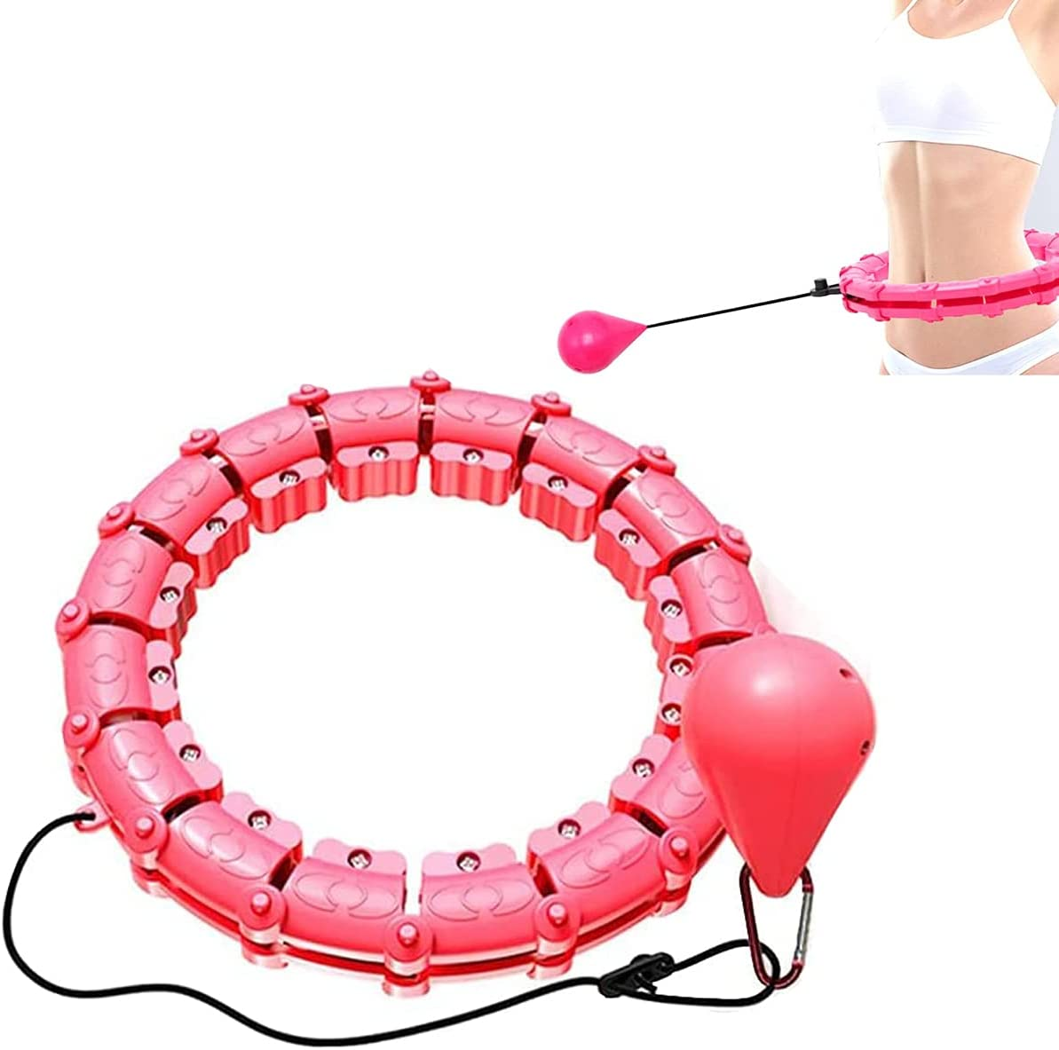Sarny Hula Hoop Smart Weighted Spring new work Hoola Directly managed store Ba Auto-Spinning with