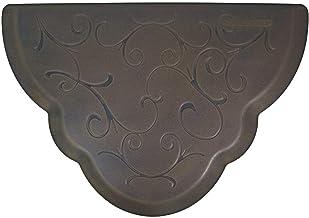 "product image for WellnessMats Premium Anti-Fatigue Mat Scalloped Bella 32""x22"", Oasis"
