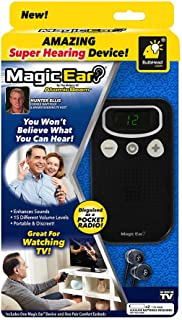 Official As Seen On TV Atomic Beam Magic Ear Personal Sound Booster by BulbHead, Portable Hearing Amplifier Enhances Vocal...
