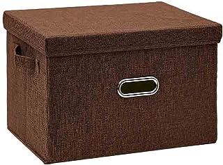 linger 5 tailles Cube Boîte de rangement de pliage non tissé cube adapté aux jouets Tissu Bacs de stockage avec couvercle ...