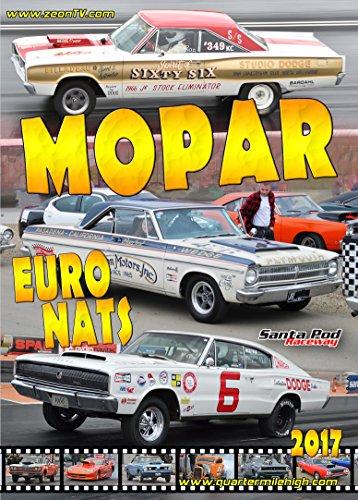 2017 Mopar EuroNats - Muscle car drag racing at Santa Pod