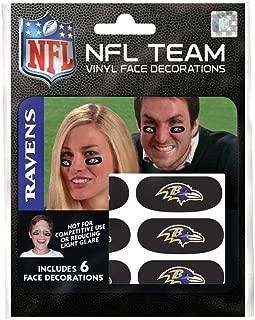 Party Animal Baltimore Ravens Team Eye Black Strips- 3 Pairs