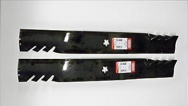 Set of 2, Longer Life 596-370 Gator Fusion G5 3-In-1 Mulching Blades to Replace 405380,..