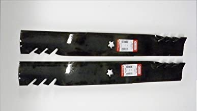 Oregon Set of 2, Longer Life 596-370 Gator Fusion G5 3-in-1 Mulching Blades to Replace 405380, 532405380, 403107, 532403107: Craftsman, Poulan, Husqvarna, Made in USA
