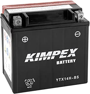 Kimpex Battery Maintenance Free AGM High Performance YTX14H-BS