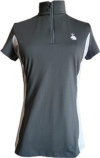 HR Farm Women's Short Sleeve Quick Dry Horse Riding Show Shirts