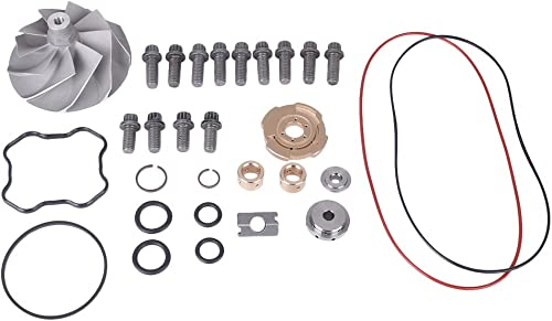 lowest Mallofusa discount Upgraded Turbo Rebuild Repair Kit & Turbo Banks Compressor Wheel for Ford Powerstroke 7.3L TP38 online sale GTP38 outlet sale