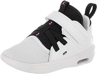 8ec6e396a0dc13 Jordan Nike Toddlers Air First Class GT White Fuchsia Blast Black Casual  Shoe 7 Infants