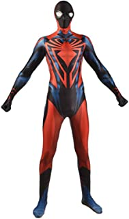 Superhero Spiderman Costume Cosplay Garment Halloween Carnival Party Spiderverse Movie Jumpsuit Lycra Spandex Zentai Birth...