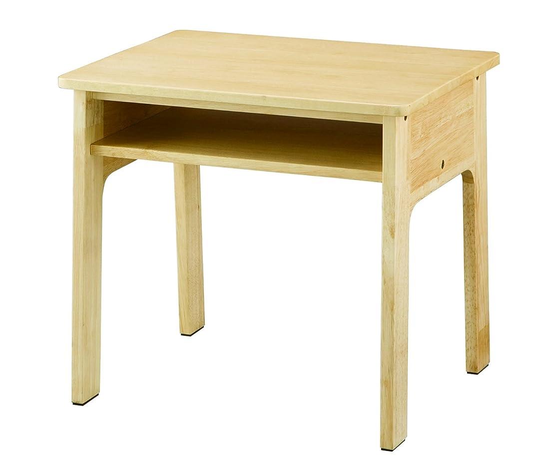 脱獄感心する溶岩koeki テーブル melkids ナチュラル ME-50T(NA)
