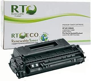 Renewable Toner Compatible High Yield Toner Cartridge Replacement HP 49X Q5949X for LaserJet 1320 3390 3392