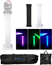 (1) Totem Light Stand w/Black+White Scrims For Chauvet Rogue R1 Wash