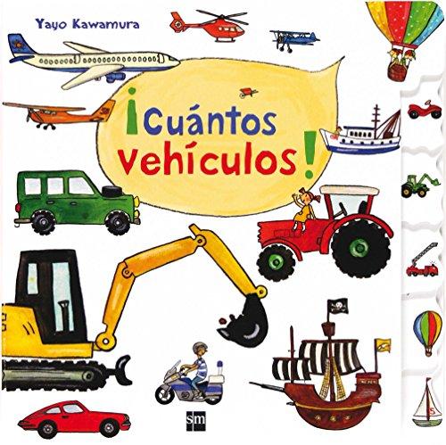 ¡Cuántos vehículos! (Libros de cartón)