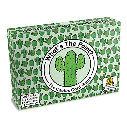What's The Point? - The Cactus Card Game - Family Friendly Party Game - Great Game for Adults, Teens & Kids