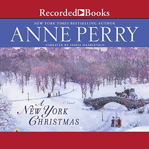 A New York Christmas audiobook cover art