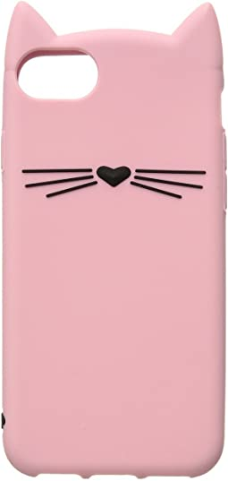 Kate Spade New York - Silicone Cat Phone Case for iPhone® 7/iPhone® 8