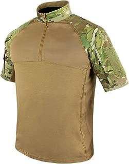 Outdoor Tactical Short Sleeve Combat Shirt (X-Large, Multicam)