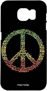 غطاء بتصميم رمز السلام احترافي من مكميرايز لهاتف سامسونج اس 7 ايدج - متعدد الالوان