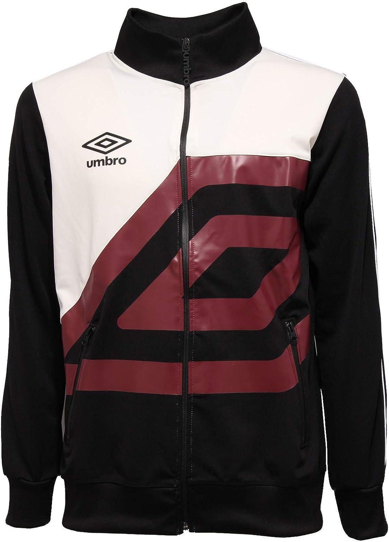 Umbro 3101K Felpa uomo Black Full Zip Sweatshirt Man