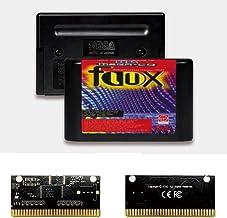 Royal Retro Flux EUR Label Flashkit MD Carte PCB or autocatalytique pour console de jeu vidéo Sega Genesis Megadrive (sans...