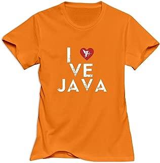 JJTD Women's I Love Java T-Shirt