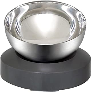 Sponsored Ad - Wisedog Dog Cat Bowls:Raised Tilted Cat Food Bowl,Stainless Steel Cat Dish Anti Vomiting Elevated with Stan...
