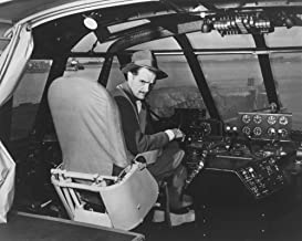 Howard Hughes in Spruce Goose Wooden Plane - Vintage Photograph 2972 (24x36 SIGNED Print Master Art Print - Wall Decor Poster)