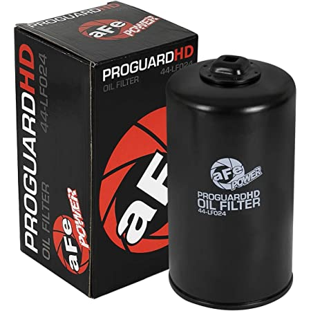 4 Pack Ford aFe Power Pro Guard 44-LF003-MB Pro GUARD D2 Oil Filter