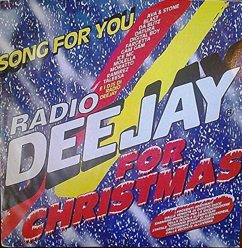(VINYL 12') Radio Deejay For Christmas Song For You