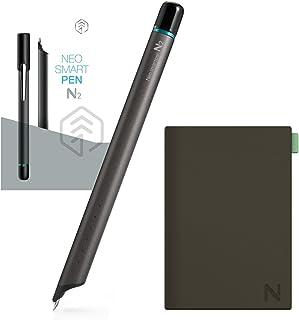 【正規品】Neo smartpen ペン&ホルダーセット ネオスマートペンN2 (チタンブラック) デジタル スマートペン & Nホルダーセット (グレー) NWP-F121BK for iOS and Android