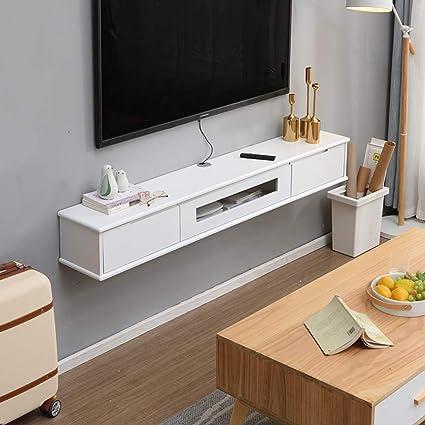 Festnight Meuble TV Suspendu Meuble TV de Salon Mural Ch/êne Sonoma 100x30x30 cm Agglom/ér/é