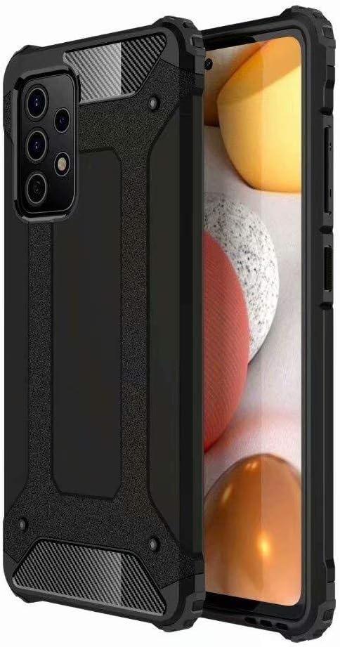 TenDll Funda para Huawei nova 8 Pro 4G, Protección Contra Golpes de TPU + PC Resistente a Arañazos(Doble Capa), Fundas Carcasas Case para Huawei nova 8 Pro 4G (Negro)