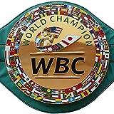 WBC Championship - Cinturón de boxeo 3D réplica para adultos