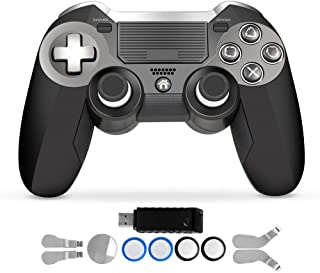 PS4 Controller,Modded Dual Vibration Elite PS4 2.4G Wireless Game Controller with Paddles Joystick for Play Station 4 Video Gaming Console