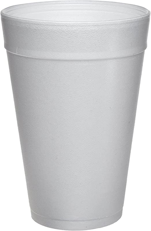 DART WHITE FOAM CUPS 32 OZ PACK OF 25 SEE MORE SIZE OPTIONS