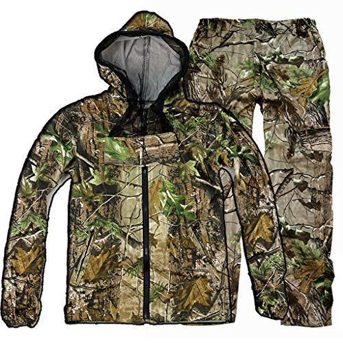 Dschungel Tarnung Kleidung Frühling Und Herbst Kleidung Baumwoll-Twill Atmungsaktiv Kratzfest Tragen Angeln Vogelbeobachtung Reisen Camping Bergsteigen Tarnanzug Multi-size Optional ( größe : XXXL )