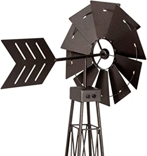 Bits and Pieces - 6' Windmill Wind Spinner - 72
