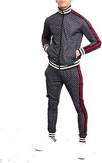 MAX CARTER LONDON Men,s Stretch Polyester Scuba Fabric Tracksuit Jogging Suit//Gym Wear Style Rubix