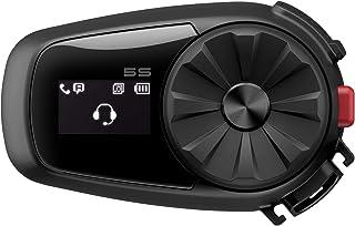 Sena 5S-01 Motorfiets Bluetooth Communicatiesysteem, Zwart, Single Pack