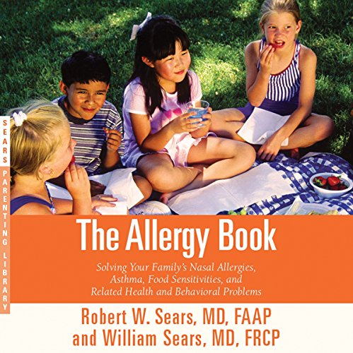 The Allergy Book audiobook cover art