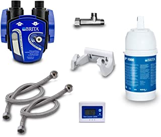 comprar comparacion BRITA - Kit para instalación de filtro de agua bajo lavabo: cartucho de filtro BRITA P1000, cabezal de filtro, indi...