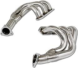 For Porsche 911 996 3.4/3.6 2pcs 3-1 Stainless Steel Header Exhaust Manifold