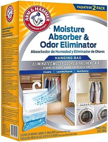 2-Pack Arm & Hammer Moisture Absorber & Odor Eliminator Hanging Bag (16-oz.)