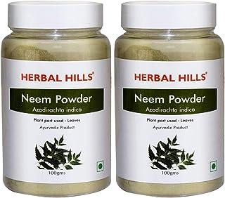 Herbal Hills Neem Powder | Neem Leaves Powder 100g (Pack of 2)